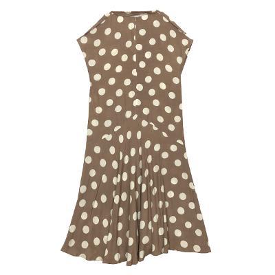 unbalance dot dress